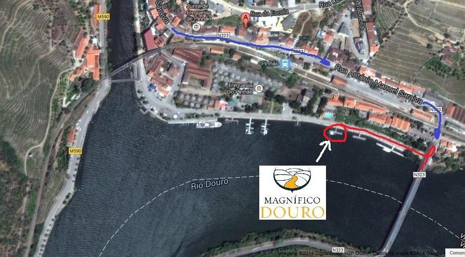 Mapa Magnífico Douro